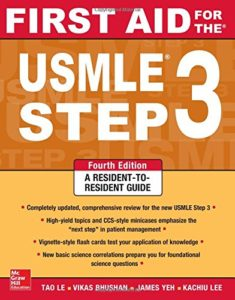 First Aid Step 3 235x300 - What is the USMLE Step 3 | Is USMLE Step 3 required for residency?