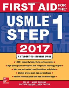 First aid 235x300 - What is UMSLE Step 1?   What is on The USMLE Step 1?