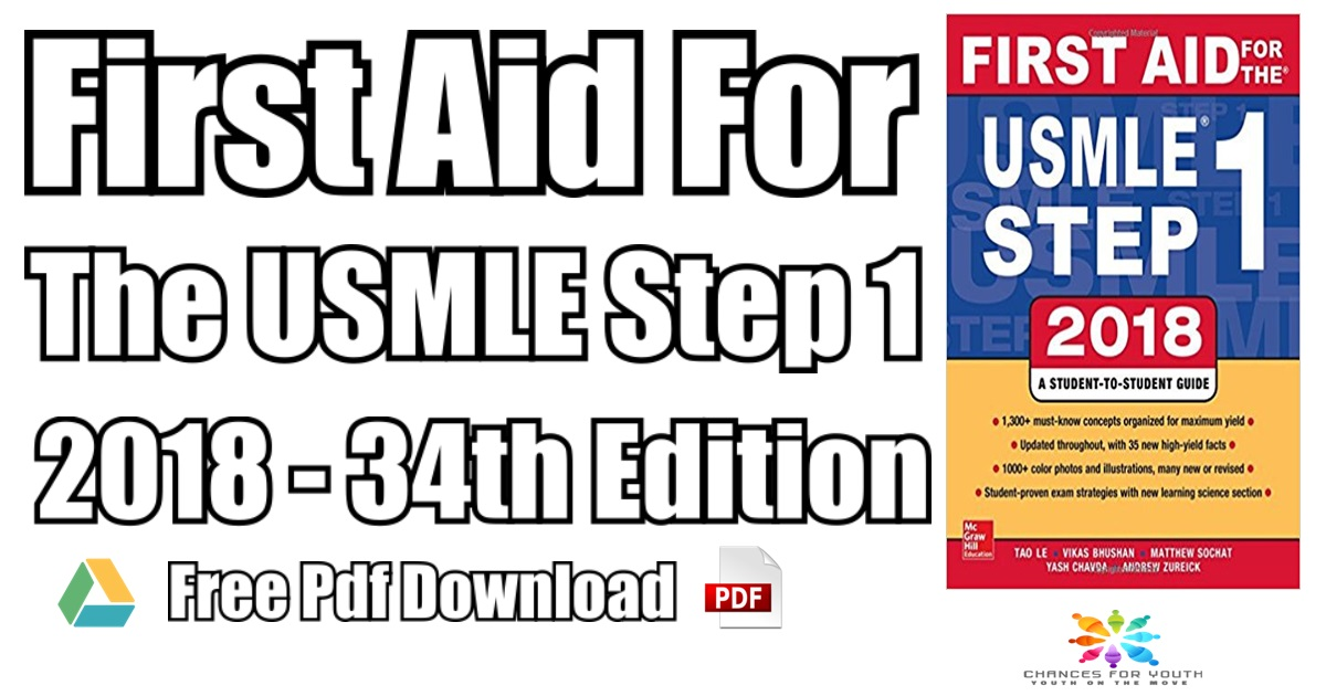 First Aid For The USMLE Step 1 PDF | First Aid Step 1 2018 Edition