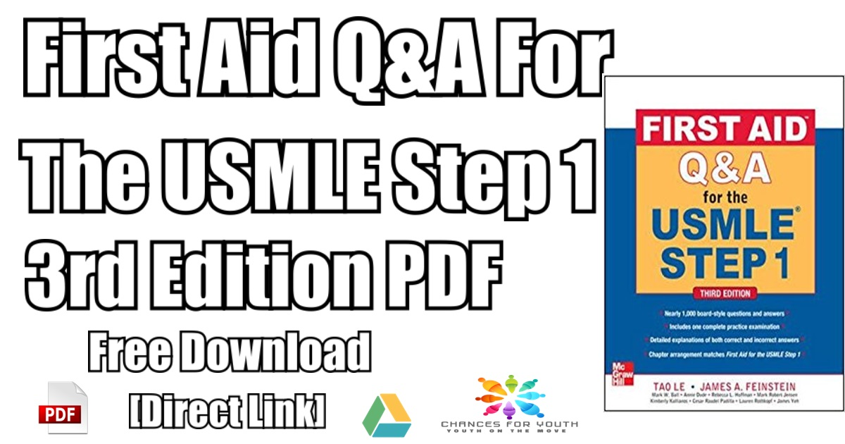 First Aid Q&A For The USMLE step 1 PDF Free Download | [Direct Link]