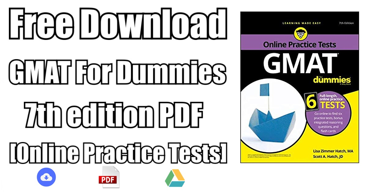 Gmat For Dummies 7th Edition Pdf Free Download Direct Link Pdf
