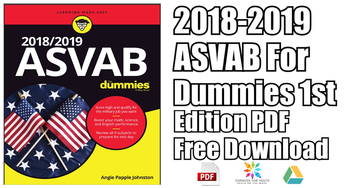 2018 2019 Asvab For Dummies 1st Edition Pdf Free Download
