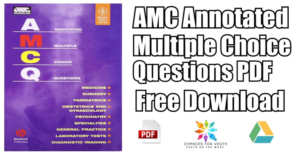 AMC Annotated Multiple Choice Questions PDF Free Download