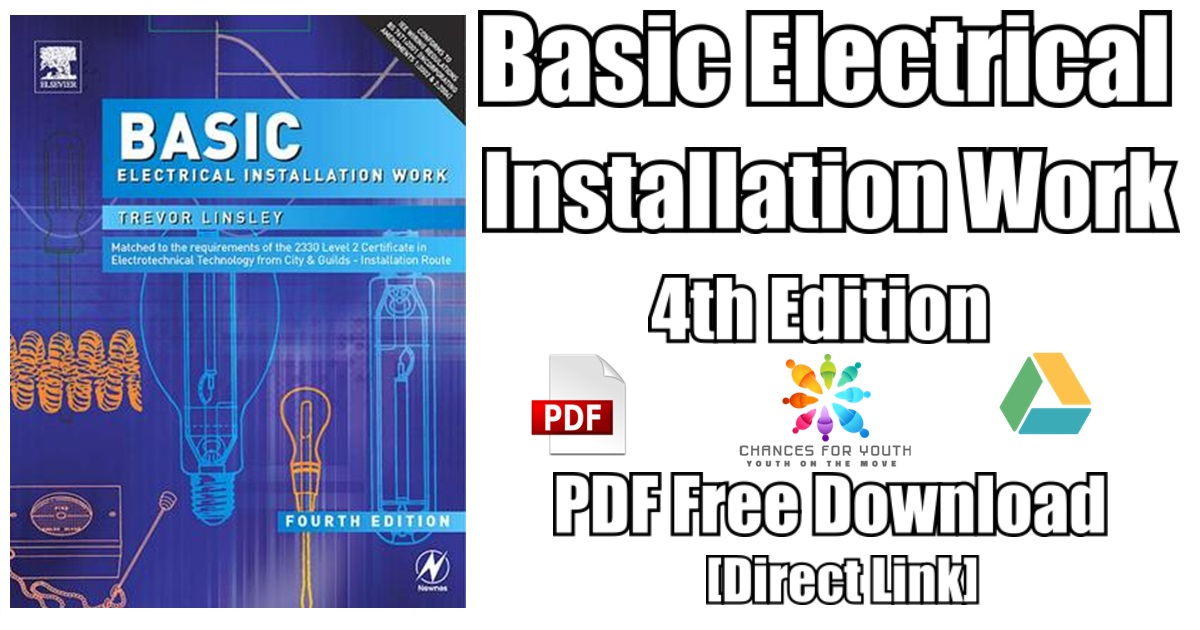 Basic Electrical Installation Work 4th Edition PDF Free Download ...
