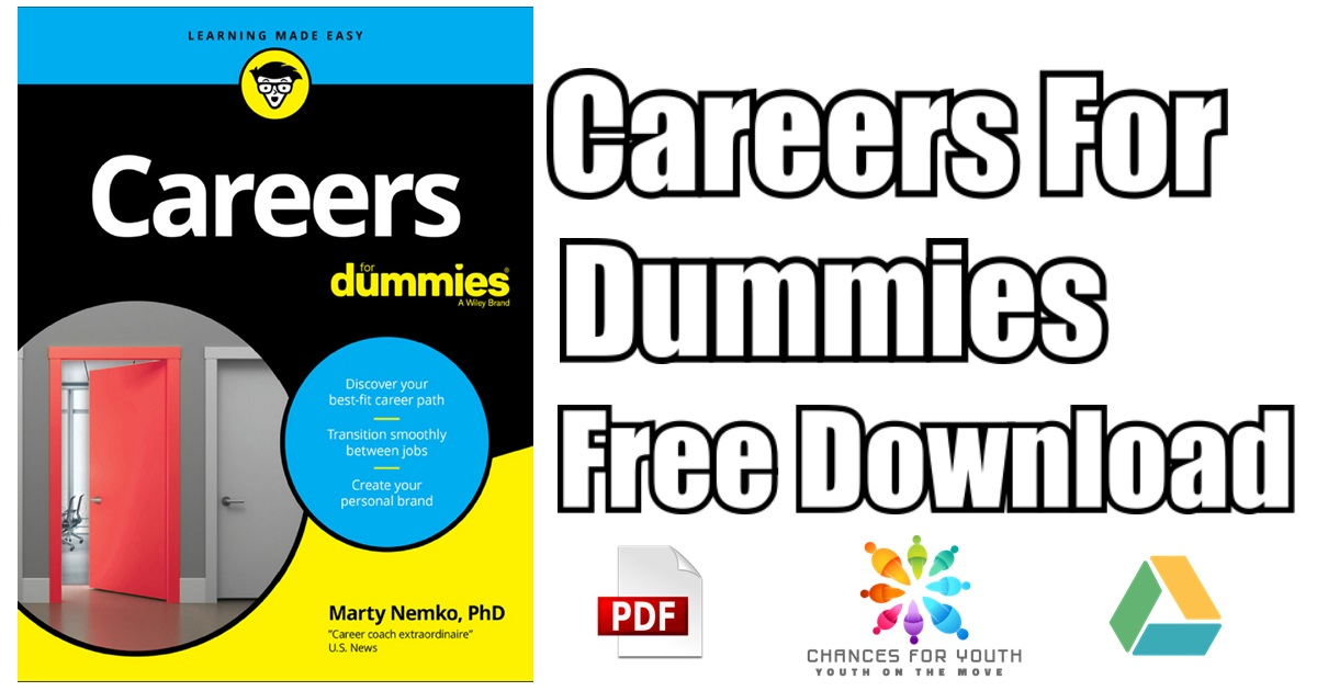 Careers For Dummies Pdf Free Download Download Careers 2018 Edition