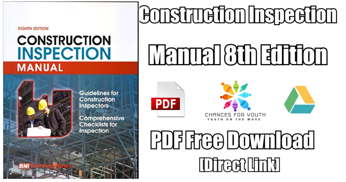 Construction Inspection Manual 8th Edition