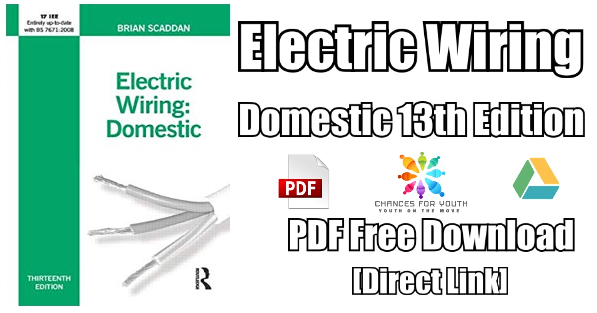 Electric Wiring Domestic 13th Edition PDF Free Download | [PDF ...