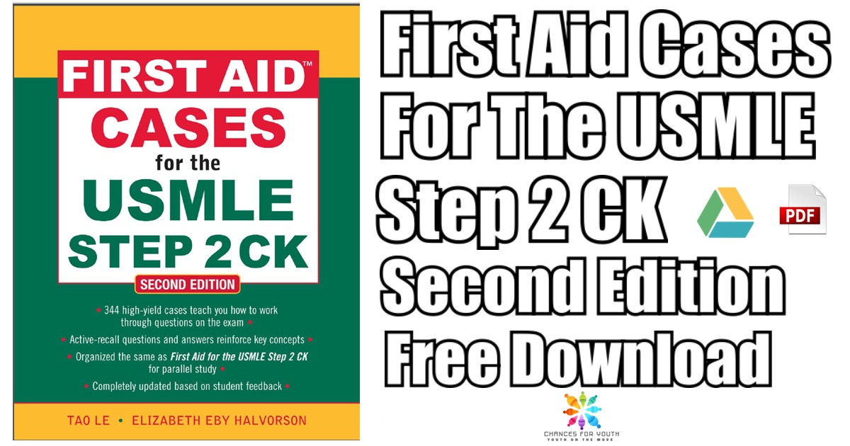 First Aid Cases For The USMLE Step 2 CK PDF