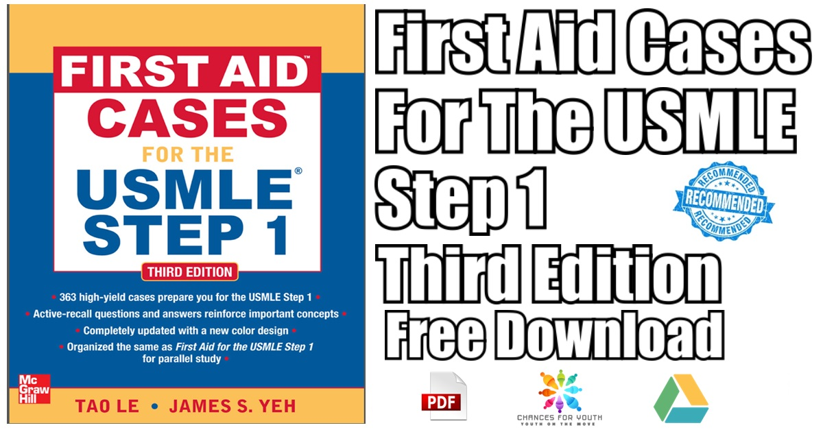 First Aid Cases for the USMLE Step 1 PDF Free Download | First Aid
