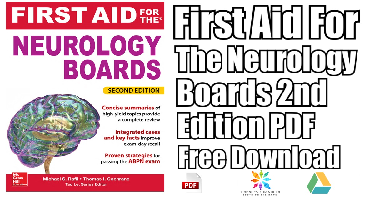 First Aid For The Neurology Boards 2nd Edition PDF