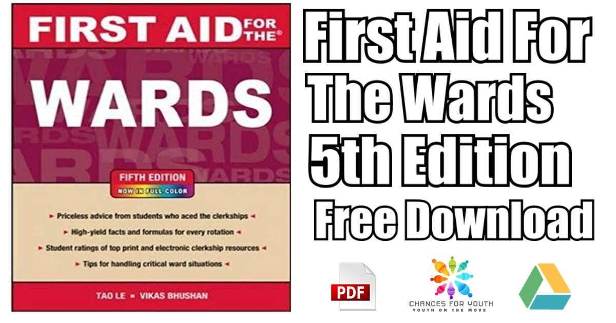 First Aid For The Wards 5th Edition PDF Free Download