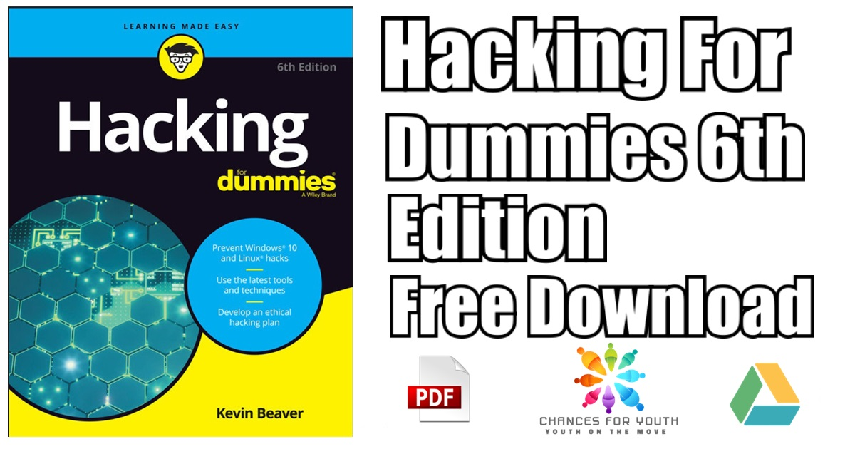 Hacking For Dummies 6th Edition Pdf Free Download Direct Link