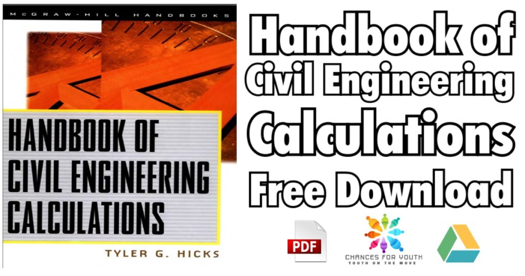 Handbook of Civil Engineering Calculations PDF 1024x538 - Structural Depth Reference Manual for the Civil PE Exam 4th Edition PDF Free Download