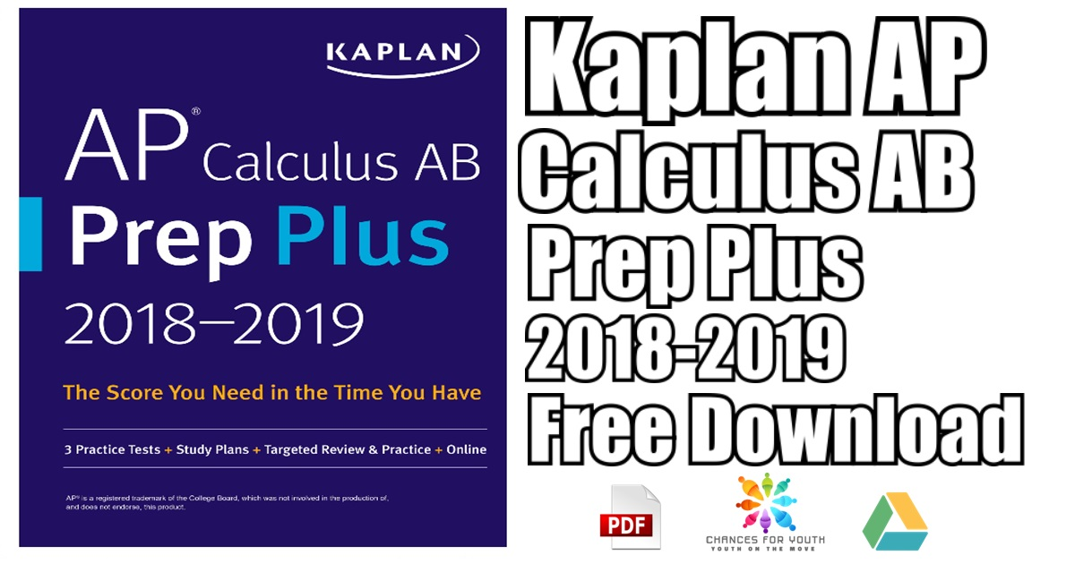 kaplan ap calculus ab prep plus 2018 2019 pdf free download 3 practice tests