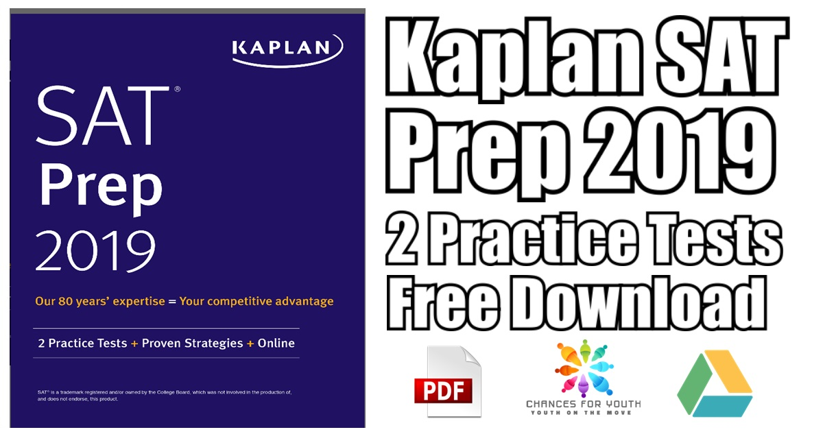 Kaplan SAT Prep 2019 PDF Free Download | Kaplan Test Prep