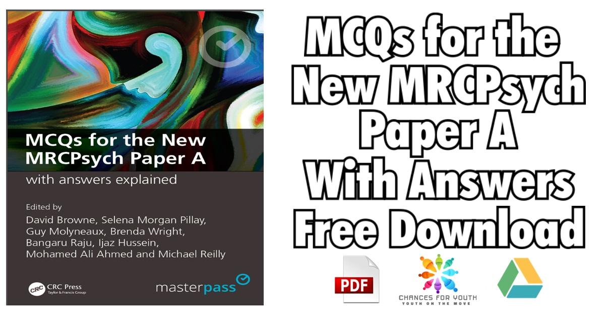 MCQs for the New MRCPsych Paper A With Answers PDF Free