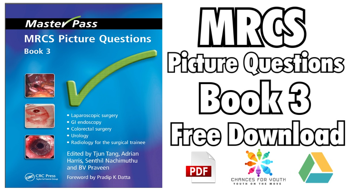 MRCS Picture Questions Book 3 PDF Free Download (Master Pass