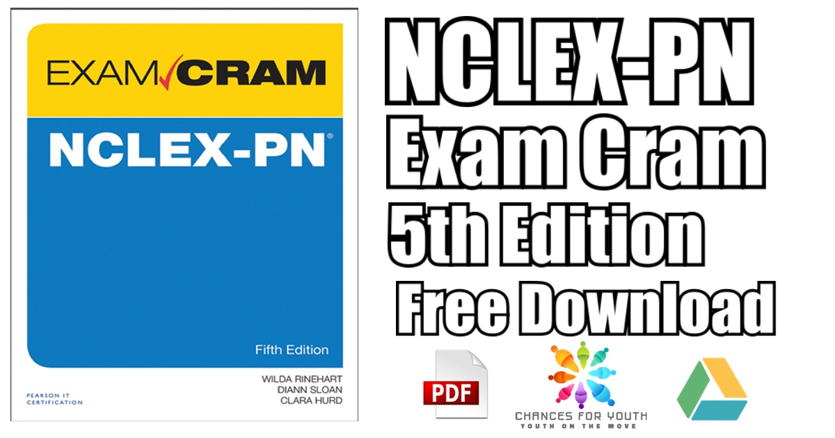 NCLEX PN Exam Cram 5th Edition PDF Free Download | [Direct Link]