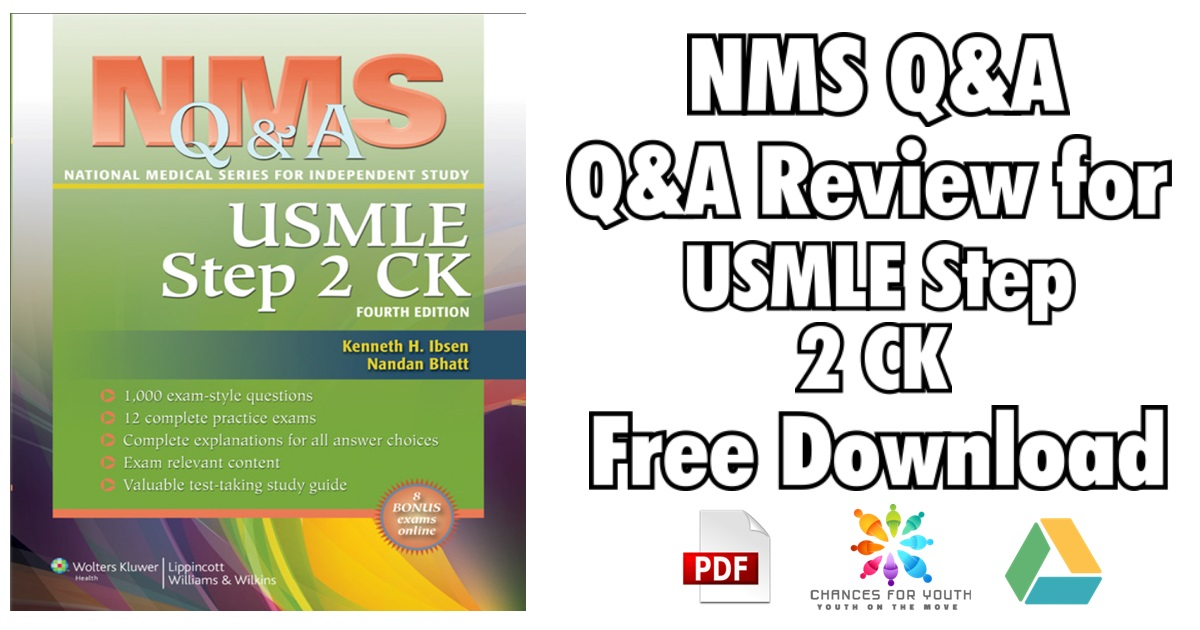 NMS Q&A Review for USMLE Step 2 CK PDF Free Download