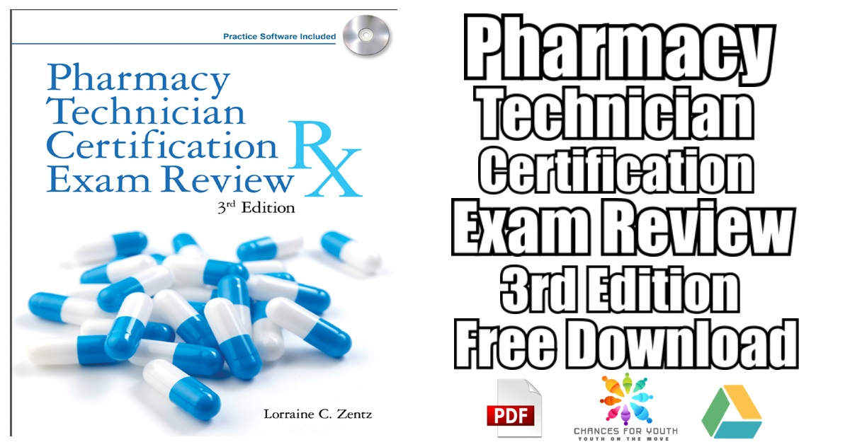 Pharmacy Technician Certification Exam Review 3rd Edition PDF Free ...