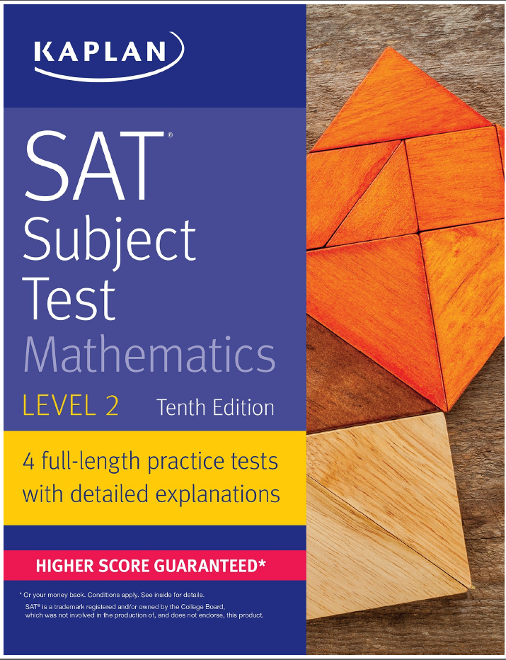 Kaplan SAT Subject Test Mathematics Level 2 PDF Free Download