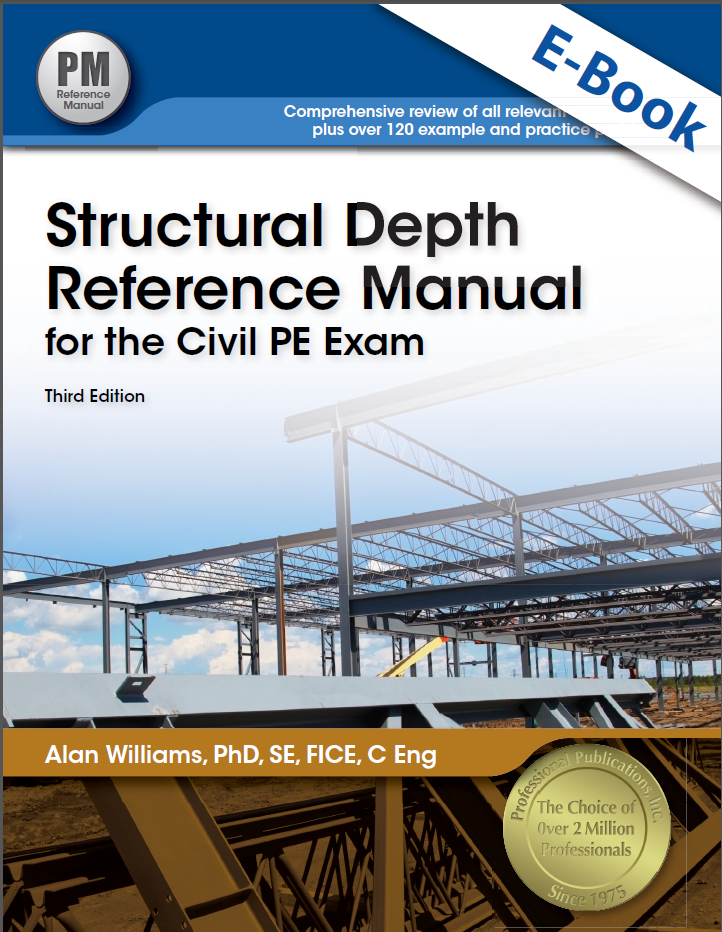 Screenshot 207 - Structural Depth Reference Manual for the Civil PE Exam 4th Edition PDF Free Download