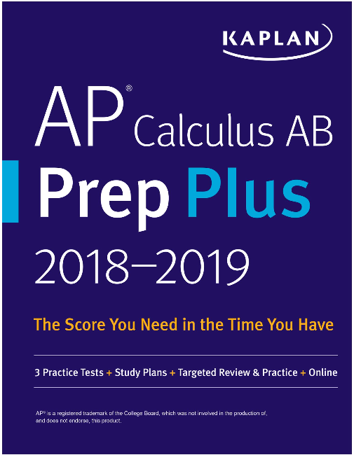 Screenshot 99 - Kaplan AP Calculus AB Prep Plus 2018-2019 PDF Free Download | 3 Practice Tests