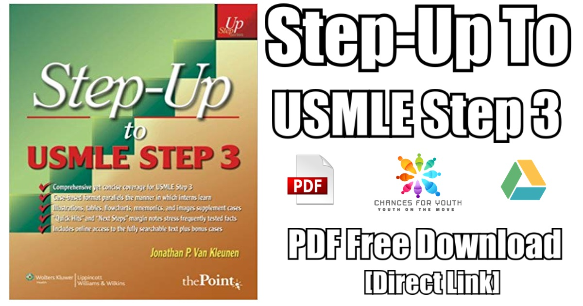 Step Up to USMLE Step 3 PDF Free Download | Step-Up Series