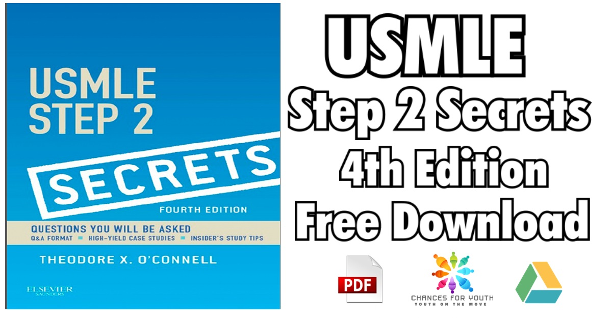 USMLE Step 2 Secrets 4th Edition PDF | USMLE Step 2 Secrets