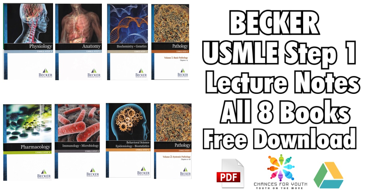 BECKER USMLE Step 1 Books PDF Free Download [Set of 8 Books]