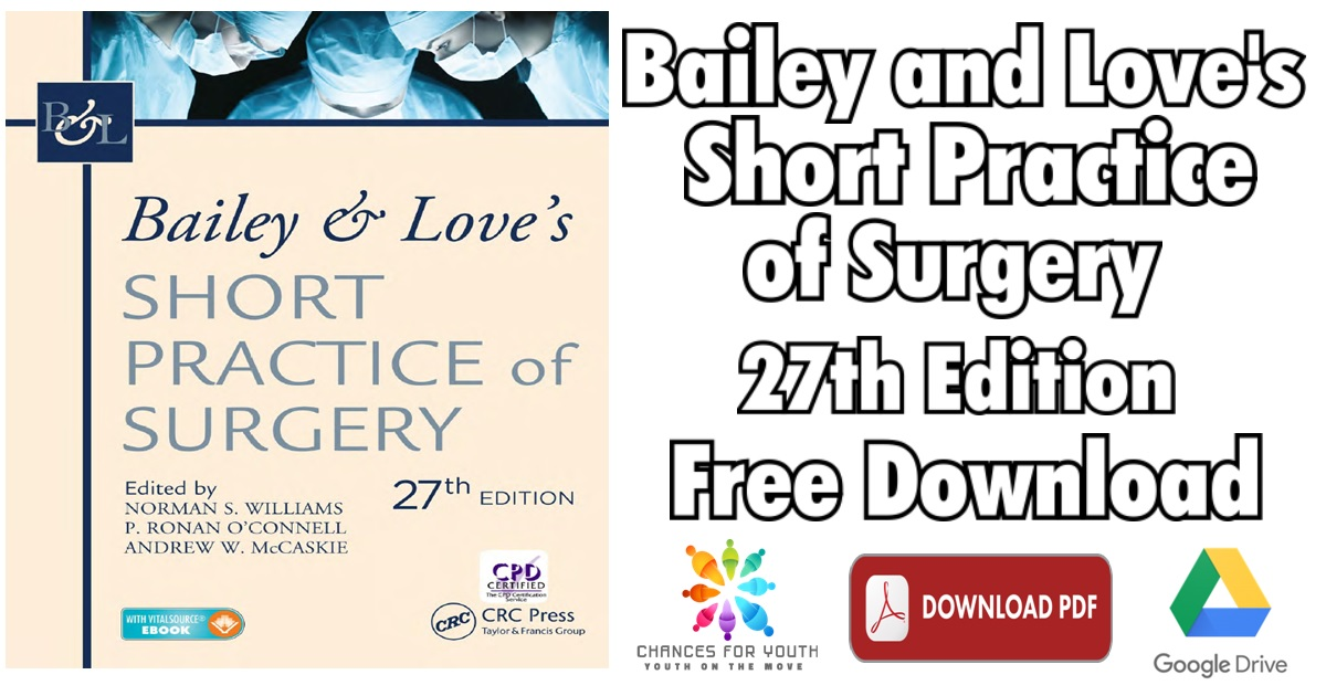 Bailey and Loves Surgery Pdf