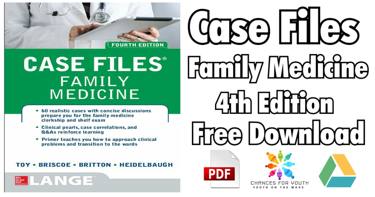 Case Files Family Medicine 4th Edition PDF Free Download [Direct Link]