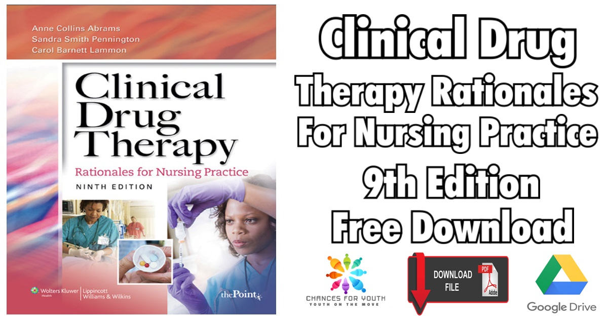 Clinical Drug Therapy Rationales for Nursing Practice 9th Edition PDF