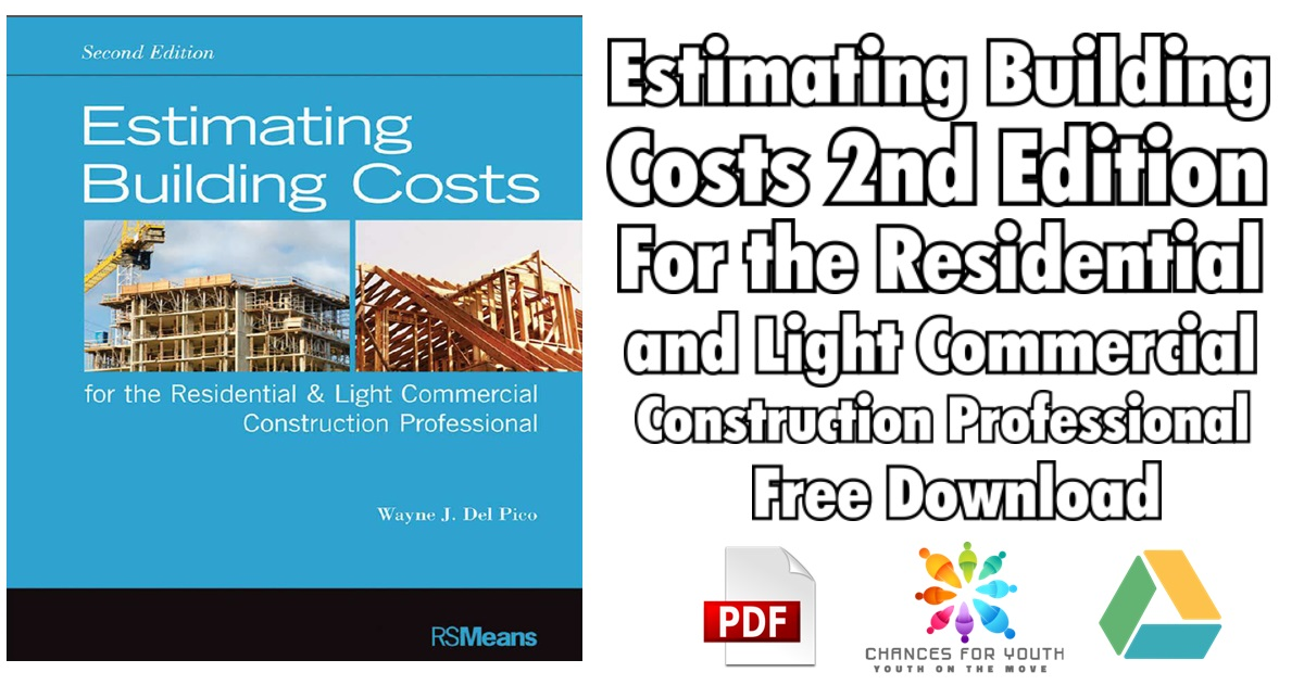Estimating Building Costs 2nd Edition PDF