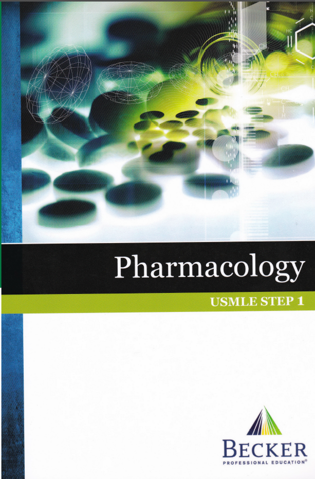 Screenshot 250 1 - BECKER USMLE Step 1 Lecture Notes Pharmacology PDF Free Download [Direct Link]