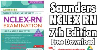 Saunders NCLEX RN 7th Edition Free Download