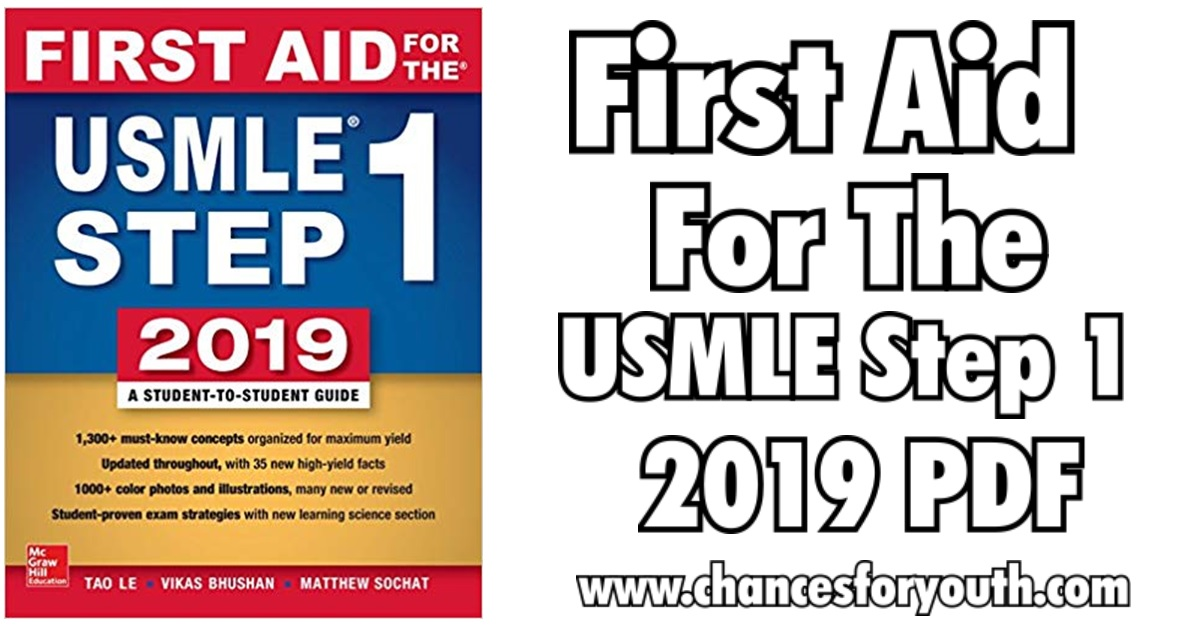First Aid For The USMLE Step 1 2019 pdf Free Download