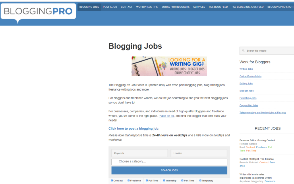 BloggingPro 1024x642 - What are the best Paid Blogging Sites? | Best Blogging Sites