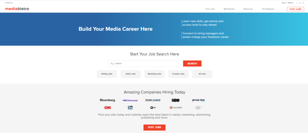 Media Bistro 1024x443 - What are the best Paid Blogging Sites? | Best Blogging Sites